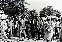 Le grand chef baluba Kasongo Nyembo avec Tshombe 1961