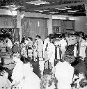 1958 - Exposition de voitures au Palace-Hotel
