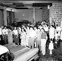 1958 - Exposition de voitures au Palace-Hotel (Albertville)