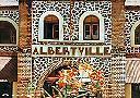 Albertville - La gare (détail)