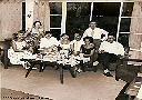 """Petit groupe de """"musiciens"""" réunis chez Mr KIPIANI"""