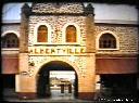 Entrée de la gare d'Albertville