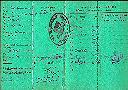 Carnet d'immatriculation