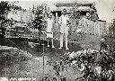 Lubudi (Katanga, Congo): Christiane et Charles Descamps (tennis)