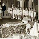 Stanleyville: Fête de St-Nicolas à l'école des Frères Maristes (1953)