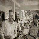 Stanleyville: Guesthouse Sabena le 29/10/1953 - Attente du DC-4 de 13H pour Entebe (Ouganda) avec l'Adjt VANCLUYSEN
