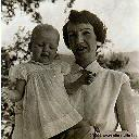 Mme Ratzel et sa fille Anne