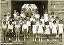 1958 - Première Communion (les noms: voir ci-dessous)