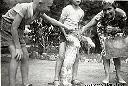 1957 - Avec le lionceau