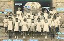 Photo de classe où figurent plusieurs enfants de la famille KARA