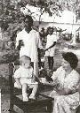1 an de Christiane - Sa maman, Liliane Koller