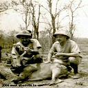 Retour de chasse - Région de Lengwe 1955