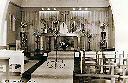 Regina Pacis, la chapelle - L'autel fleuri, un jour de fête