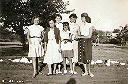 Quelques filles de l'athénée: C. Pigeolet, M.C. Labeye, N. Herman, M. Hautier