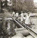 BENDERA - Les Poulizac et les Turpin à la rivière Mudjale
