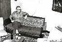 Albertville - Papa dans son appartement
