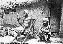 SAMBA - Devant la hutte