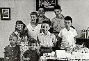 Albertville, Athénée - Willy Colson, M-J Poulizac et enfant Lamin