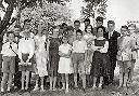 Albertville, Athénée - Remise des prix - Fin d'année scolaire 1958