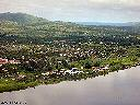 Kongolo - Vue aérienne du port