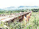 Kongolo - Le pont sur le Lualaba