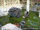 Centrale hydroélectrique de la mine après destructions et pillages