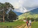Vue de la montagne à partir du poste de Bendera même