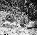 Chute d'eau Kyimbi en pleine crue - Dec 1957