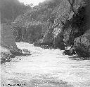 Chenal de déviation provisoire de la Kyimbi - Juillet 1958
