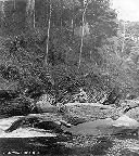 Repos sur les rochers - Fin Sept 1956