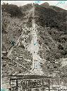Centrale en construction 975 m Montagne jusqu'à 1.400 m - Funiculaire terminus 1.690 m - Route supérieure
