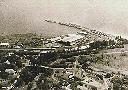 Vue aérienne du port d'Albertville (Lac Tanganyika)