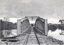 Pont rail sur la rivière Lufubu