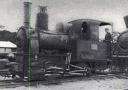 Une des premières locomotives du CFL