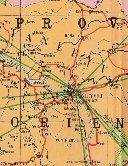 Carte routière - Stanleyville et sa région alentours