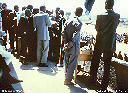 Groupe de participants Congolais aux cérémonies de l'Indépendance