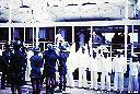 Réception à bord du BARON DHANIS
