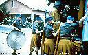 Soldats Irlandais de l'O.N.U. quelques heures avant leur massacre