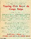 TOURING CLUB ROYAL DU CONGO BELGE
