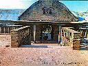 Hall d'entrée, Lycée AMANI Août 2005