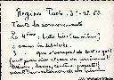 Regina Pacis - Texte figurant au dos de la photo de droite