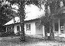 Maison d'accueil pour colons durant leur période de prospection