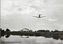 DC-7 Sabena à l'atterrissage