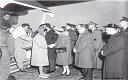 Les 26 et 27-11-1964, les personnes évacuées du Congo furent accueillies par le couple royal belge