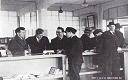 1949: Enregistrement (Check In) de passagers à l'aéroport de Melsbroek