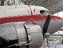 DC 3 exposé au Musée de l'Aviation de Bruxelles